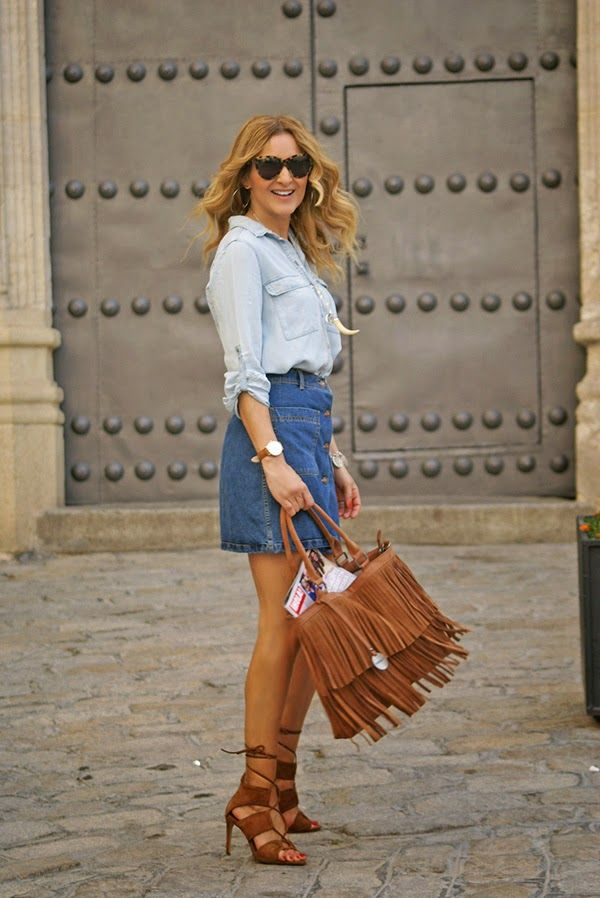 Flavia Bag by Diana&co- Leather Fringes