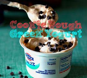 Successfully Fit: Clean Eating Cookie Dough Yogurt