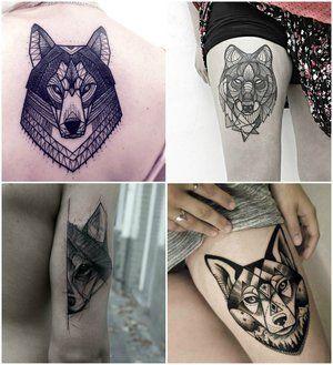 27 tatuajes de lobos y su significado para plasmar tu lado más salvaje en tu piel - Diseño