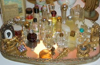 Empty perfume bottles - people collect them! Don't throw them away without checking their value on eBay or Etsy.