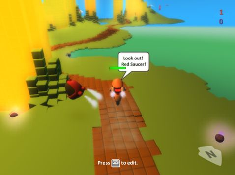 KODU Game Lab - free game development software for kids - make your own game - no experience necessary