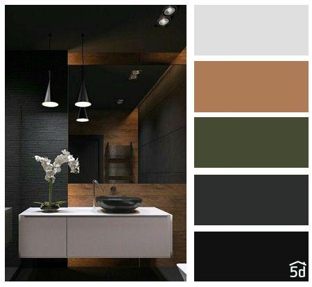 Color palette, black, green, brown | Green color palette ...