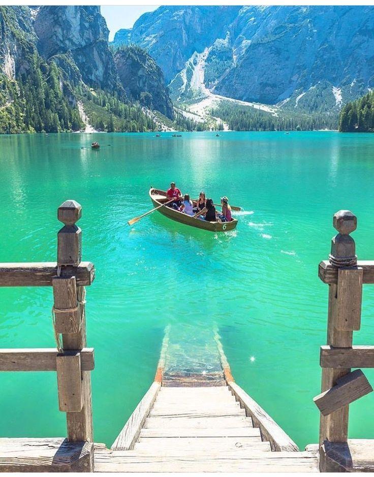 Lago di Braies, Bolzano, Itália