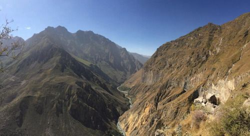 The Colca Canyon in all its glory #Peru #Arequipa #ColcaCanyon #Colca #RTW #JulesVernex2 More on our stay in Peru in our travel blog julesvernex2.wordpress.com
