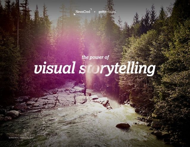 The Power of Visual Storytelling  by NewsCred via slideshare