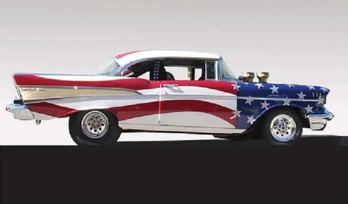 Patriotic cars