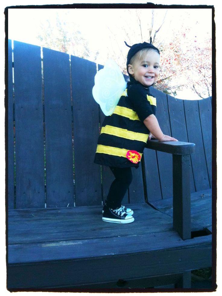 my girl's bee costume