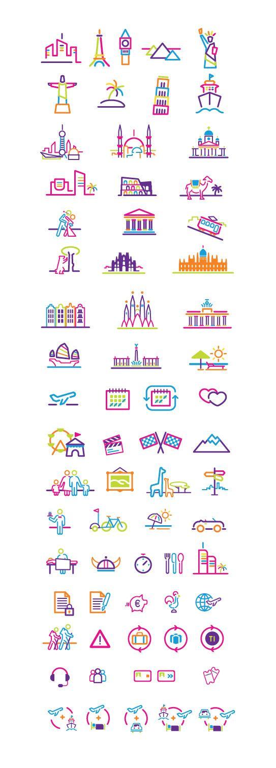 IELLO TRAVEL Icons by David Rafachicho