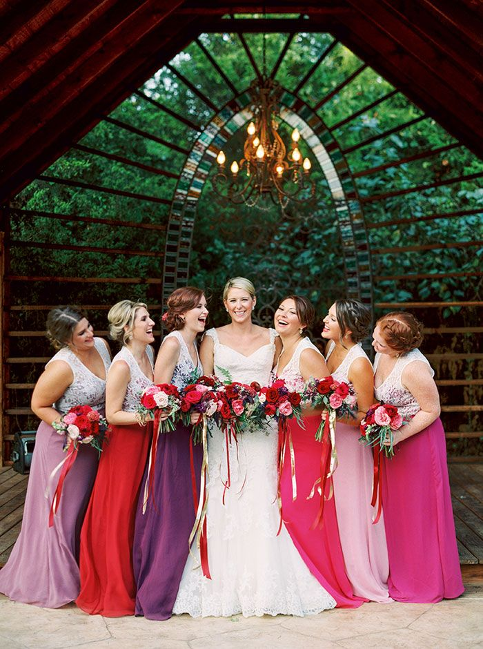 Jessica Gold Photography | Florist: R Love Floral | Hair & Makeup: Jenna Thomas Beauty | Wedding Dress: Justin Alexander | Bridesmaid Dresses: Alexia Designs