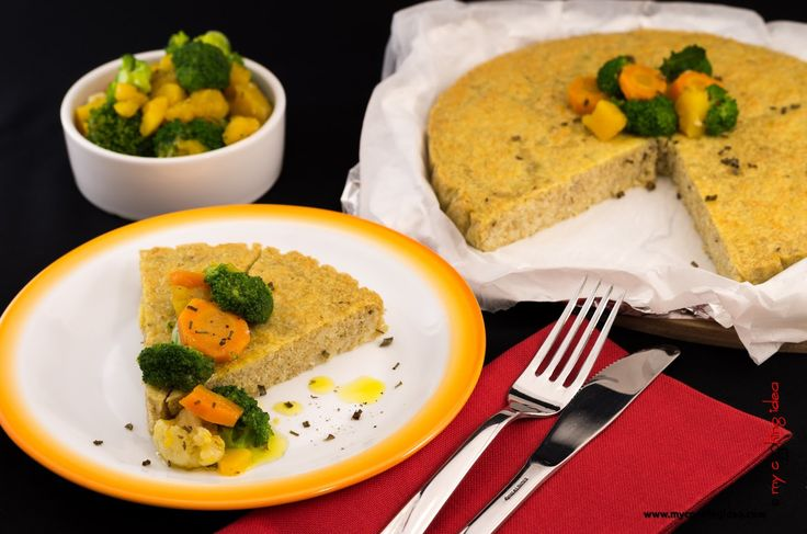 My Cooking Idea. Ricette vegetariane e vegane, dolci e dessert.: Tortino di amaranto e cous cous