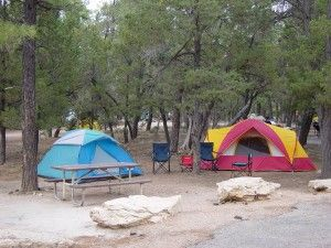A ten by ten foot tent is ideal for two adults. You will have enough space for cots or a double air mattress, plus space to stand up when changing clothes. http://www.familycampinggear.com/family-camping-gear-tips/choosing-a-camping-tent/ #camping #choice #tent