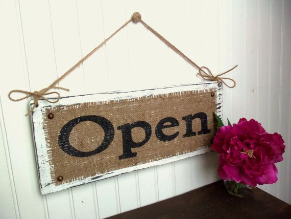 Cute for porch or patio or just do one letter of a name. Luv the burlap and upholstery tacks.