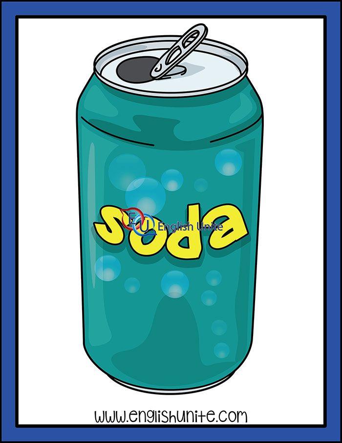 Snack Soda English Unite Clip Art Food Clips Soda