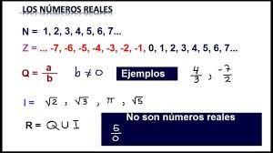 Resultado de imagen para caracteristicas del conjunto de los números enteros