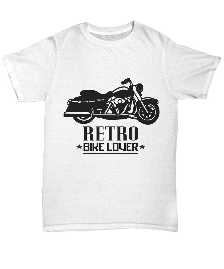 Retro Motorcycle T-Shirt Gift for Biker