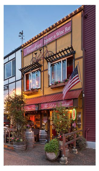 Tandem Dinner & Wine Bar | Bothell/Woodinville Washington - local, farm-to-table dining.