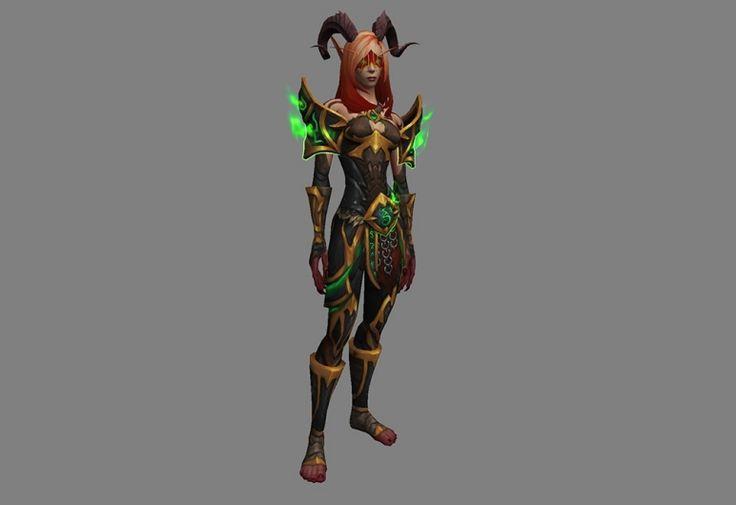 World of Warcraft: Legion Expansion Announcement - Demon Hunter