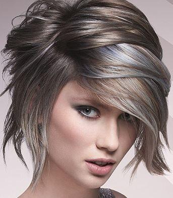 van bruin naar grijs haar - Google zoeken