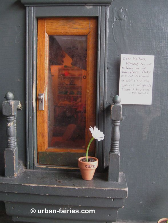 Urban Fairies, fairy doors, Observations, Fairy Finders 5th