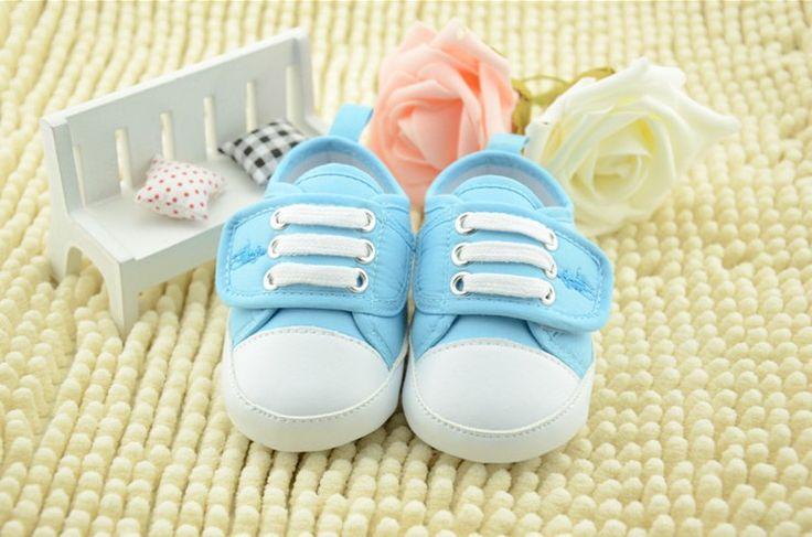 Детские малыш обувь поло детская обувь светло-голубой детские ботинки мягкое дно противоскользящие детские первые ботинки ходока 3 пара/лот