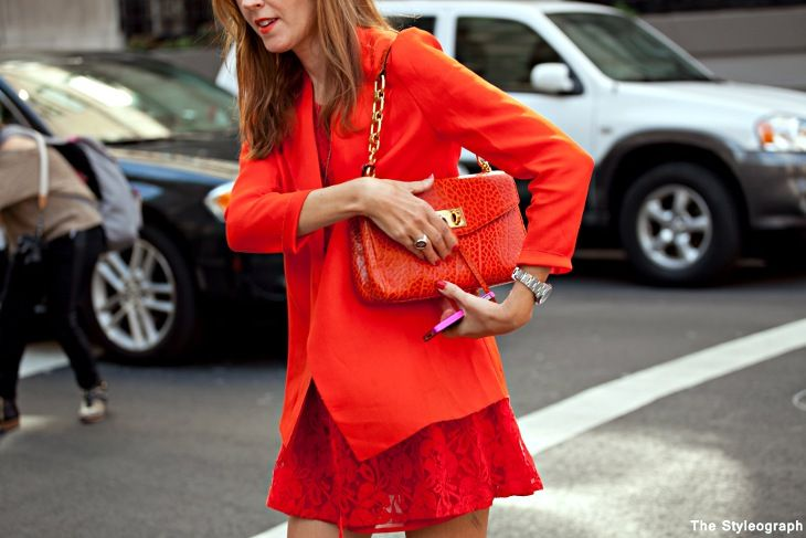 cbch loves all-over orange. get #styledbycbch colettehayman.com