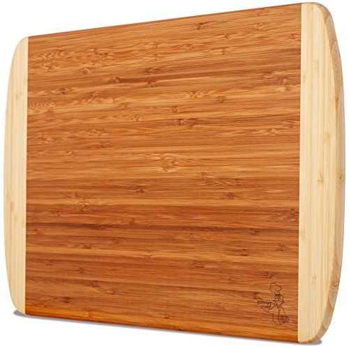 Eco-Friendly, Professional-Grade & 100% Organic Materials Make The Greener Chef Bamboo Cutting Board A Cut Above The Rest  Whether you're prepping a dozen veggies for authentic Asian stir-fry or carving up a chicken to go with your homemade dumplings, your cutting board should be durable and attractive.  Do away with hard plastic