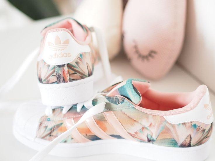 adidas superstar fleur femme