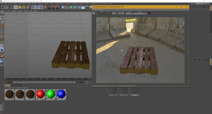 Workflow Tutorial - Maxon C4D to Allegorithmic Substance Painter to Arnold Render on Vimeo