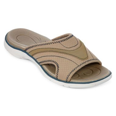 St John S Bay 174 Oceanside Womens Slide Sandals Found At