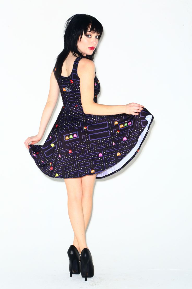 Muzman skater dress