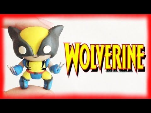 ▶ DIY Wolverine from MARVEL X-men Chibi Clay Character - YouTube  http://www.youtube.com/watch?v=2YfcEtkQAB8
