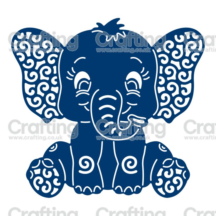 Tattered Lace Dies - Baby Elephant