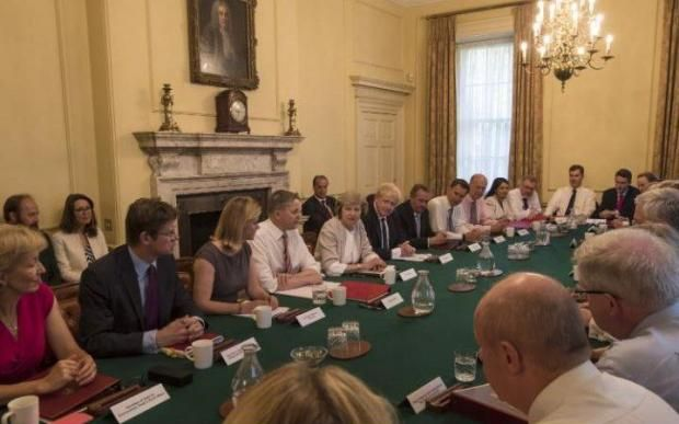 "Relief all round that the new Prime Minister has revived traditional collegiate government. ""She has brought back proper cabinet government with formal committees,"" reported Laura Kuenssberg, the BBC's Political Editor. She has ""started well"", said Lord Tebbit, getting away from ""ad hoc decision making amongst a few chums""."