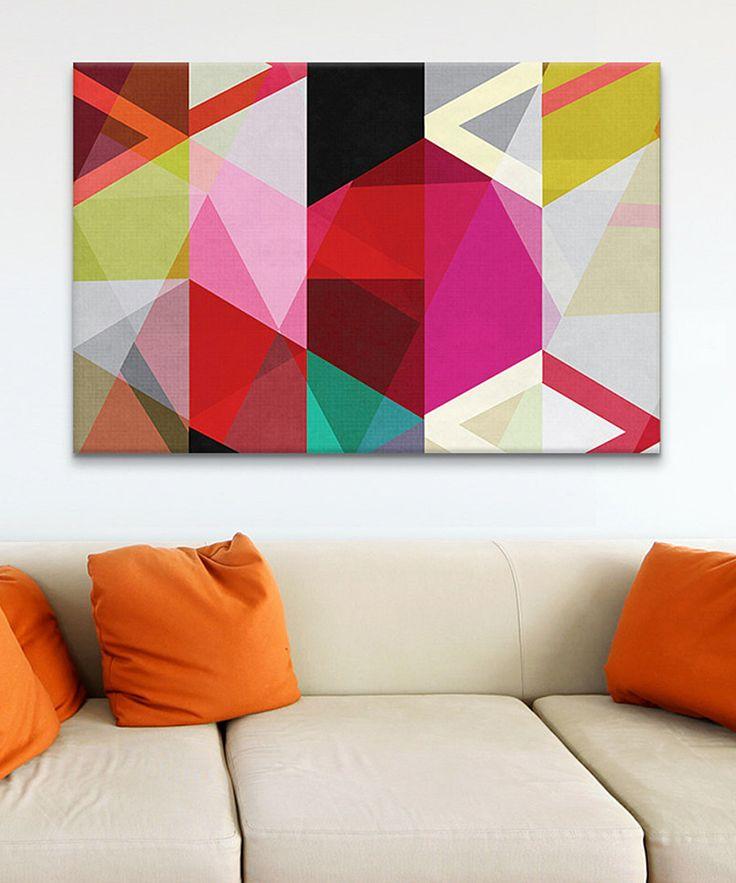 iCanvasART - Modern View Through a Kaleidoscope Canvas Print $114.99
