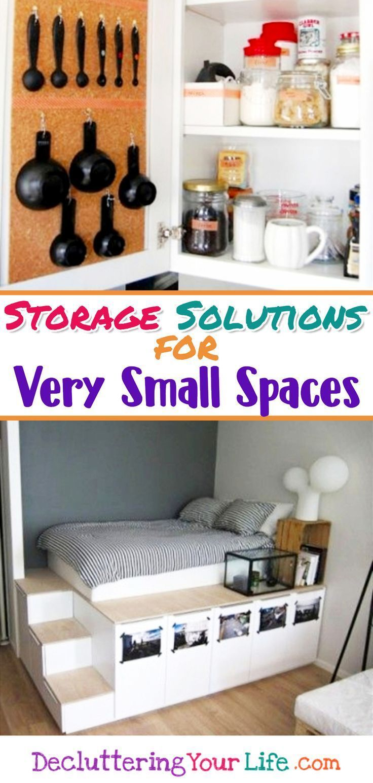 Creative storage solutions for small spaces organization to try