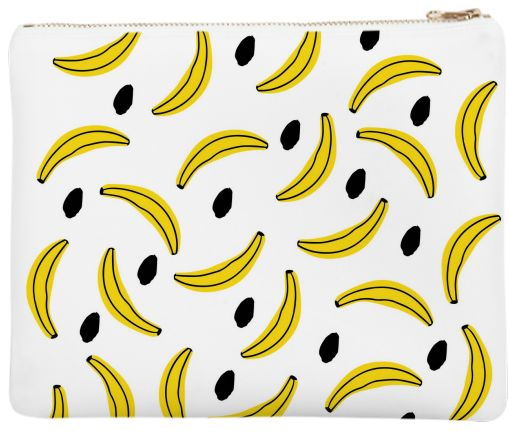 Neoprene Clutch It's Bananas by gonpart
