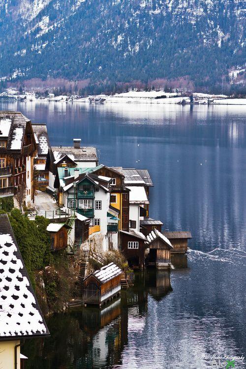 """Hallstatt, Austria - """"cold water of Hallstatt/Hallstatt hideg vize..."""" by LX_ZX, via Flickr"""