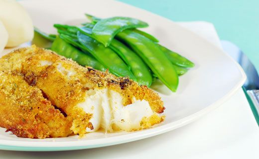 Crispy Cajun Fish Fillets - Health Canada recommends eating fish twice weekly. This recipe is a tasty way to get one fish serving!