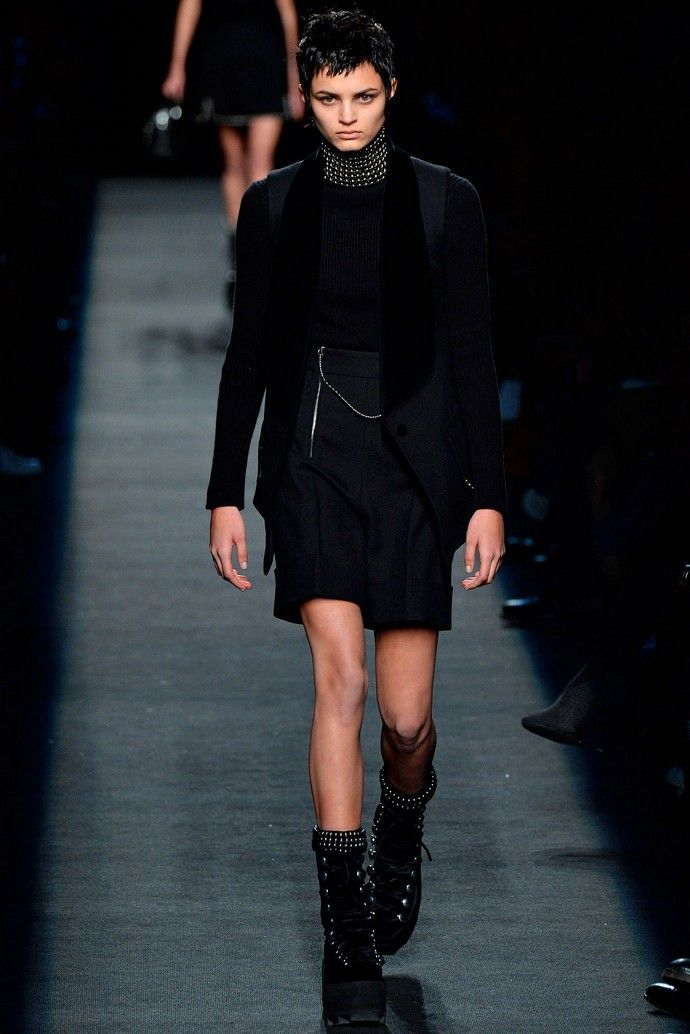 New York Fashion Week - Fall 2015 Alexander Wang #NYFW