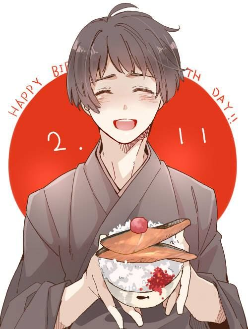 Japan<<<IT'S ALMOST TIME FOR THIS CUTIE'S BIRTHDAY!! <<< Japan's birthday is February 2nd