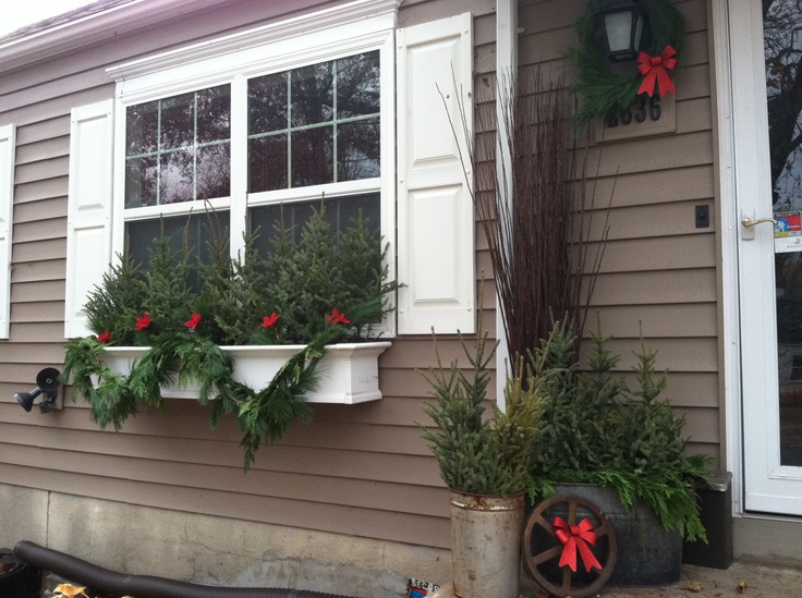 My Exterior Christmas Decorations
