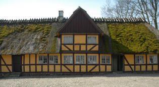Møllergård fra Ellested - Frilandsmuseet - Nationalmuseet