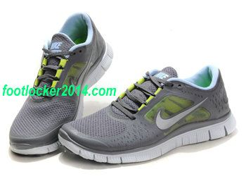 Nike Free Run 3 5.0 Gray Shoes For Women