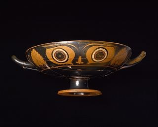 Kylix with eyes. Greek, c. 520 BC