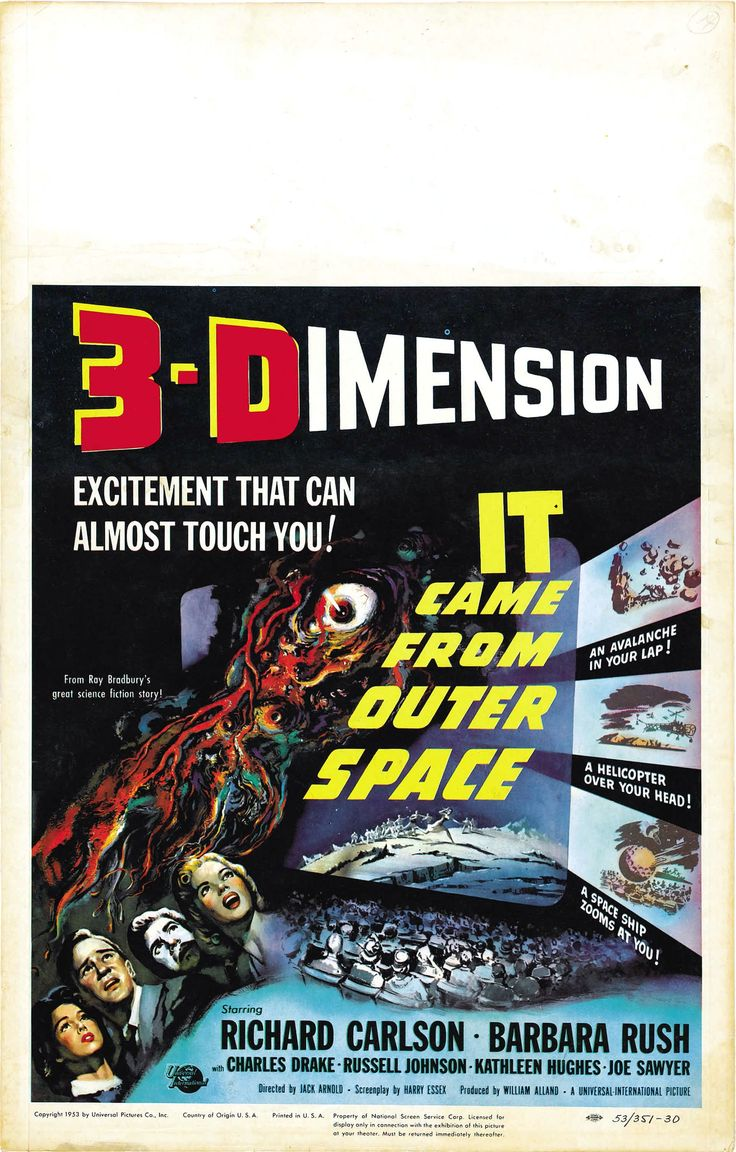 10 best images about it came from outer space 1953 on for The thing that came from outer space