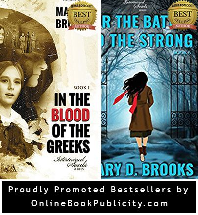 The race is not always to the swift, nor the battle to the strong... Intertwined Souls Series is a steady bestseller under Literature & Fiction, Historical Fiction as well as Fantasy. Learn more about these novels by Amazon Bestselling author Mary D. Brooks http://www.onlinebookpublicity.com/lesbian-historical-romance.html  Introduce me to your bestseller: http://www.onlinebookpublicity.com/bookpromotion.html