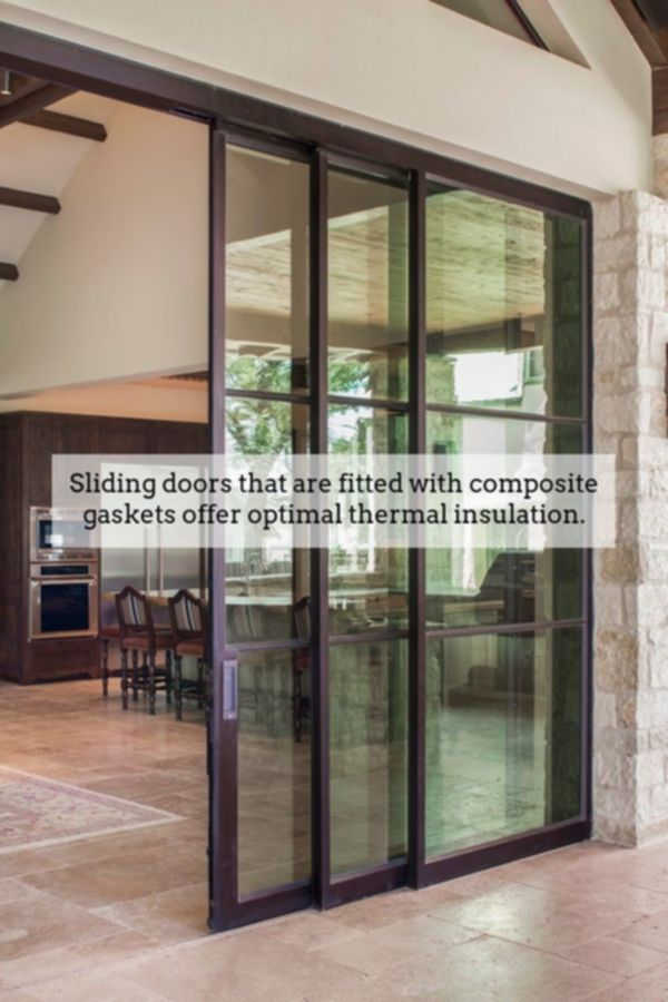 Sliding Doors Achieve Fabulous Dramatic Room Designs While Using Thermally Insulated Sli Sliding Doors Interior Residential Exterior Doors Barn Doors Sliding