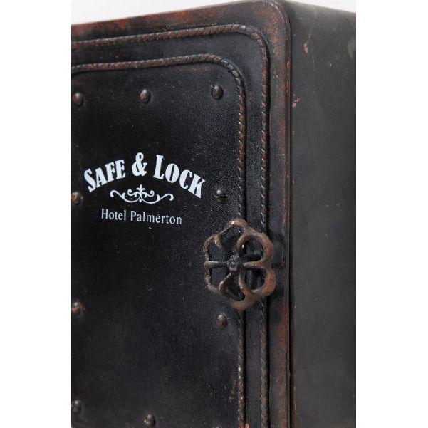 Κλειδοθήκη Safe Κρατήστε οργανωμένα και κυρίως ασφαλή τα κλειδιά σας στην μεταλλική αυτή κλειδοθήκη σε vintage look χρηματοκιβωτίου.