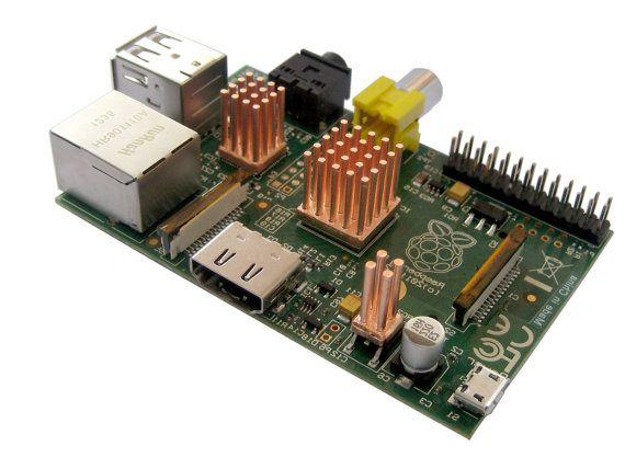 Nouveau Raspberry Pi Kit Radiateur - 100 % forgé cuivre - lot de 3 sur Etsy, 12,71€