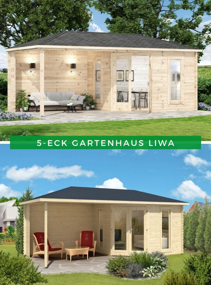 5Eck Gartenhaus Liwa28 5 eck gartenhaus, Gartenhaus